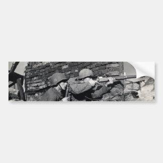 Francotiradores del holandés de WWII Pegatina Para Auto