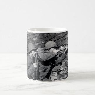 Francotiradores del holandés de WWII Taza De Café