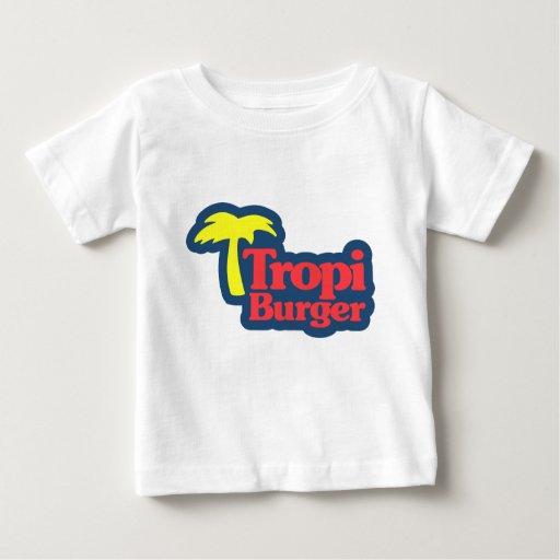 Franela de Tropi Burger - camiseta de la
