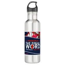Frangela - The Final Word Stainless Steel Water Bottle