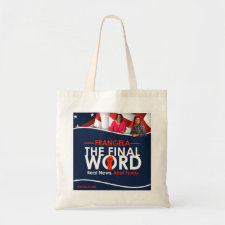 Frangela - The Final Word Tote Bag