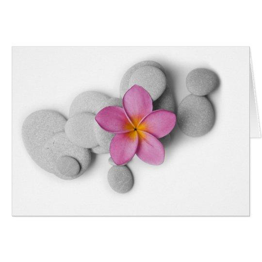 Frangipani Calm Card
