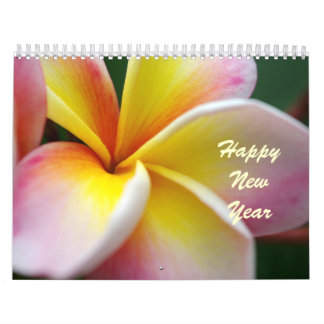 Frangipani Collection Calendar