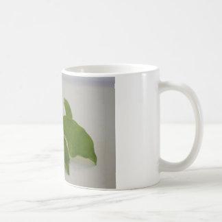 Frangipani flower arrangement coffee mug