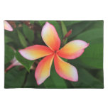 Frangipani flower cloth placemat