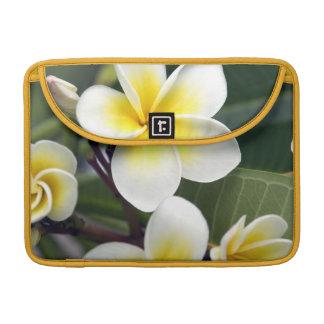 Frangipani flower Cook Islands MacBook Pro Sleeves