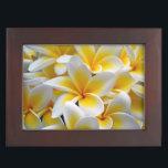 "Frangipani flower photo keepsake box<br><div class=""desc"">Custom frangipani wedding,  engagement or bridal shower gift for the bride</div>"