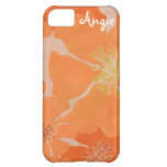 Frangipani Hawaiian Plumeria Tropical Beach Luau Case For iPhone 5C