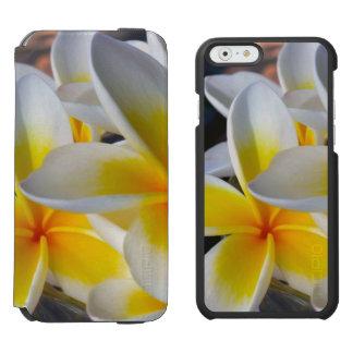 Frangipani iPhone 6/6s Wallet Case