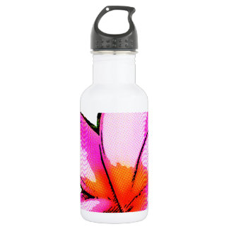 Frangipani Magenta Pop Water Bottle