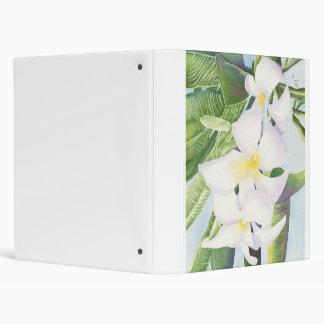 Frangipani Orchids Binder