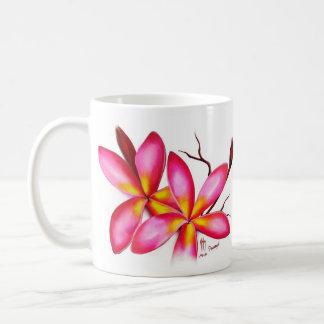 Frangipani Pink coffee mug