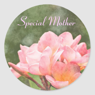Frangipani Special Mother Sticker
