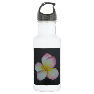 FRANGIPANI STAINLESS STEEL WATER BOTTLE