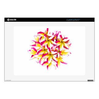 "Frangipani Temple flower 15"" Laptop Skins"