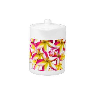 Frangipani Temple flower Teapot