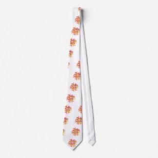 Frangipani temple flower tie