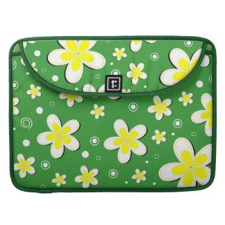 Frangipanis Floral 15 Inch Macbook Pro Sleeves