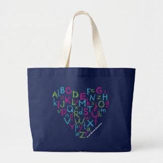 Frank Borman Elementary Alphabet Heart Bag