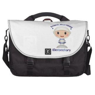 Frank Borman Elementary Astronaut Name Image Laptop Messenger Bag