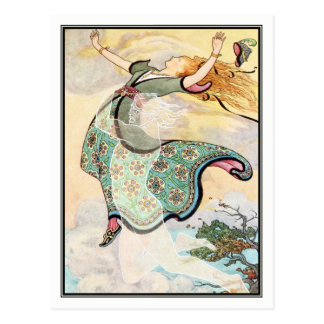 Frank C. Papé Pape - Whirlwind the Whistler Postcard