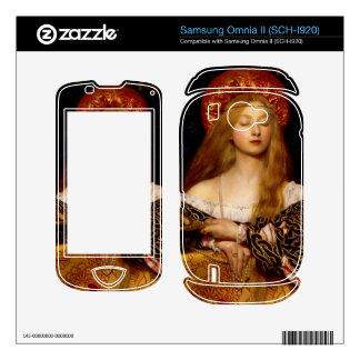 Frank Cadogan - Vanity Samsung Omnia II Decal