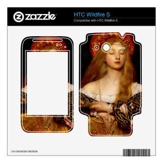 Frank Cadogan - Vanity HTC Wildfire S Decals