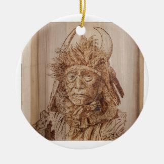 Frank Carron-1.tif Ceramic Ornament