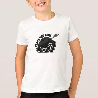 Frank el logotipo del tanque embroma la camiseta