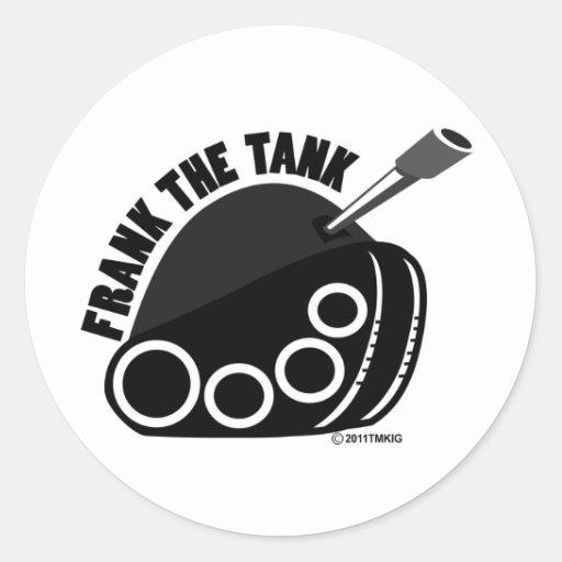 Frank el pegatina del logotipo del tanque