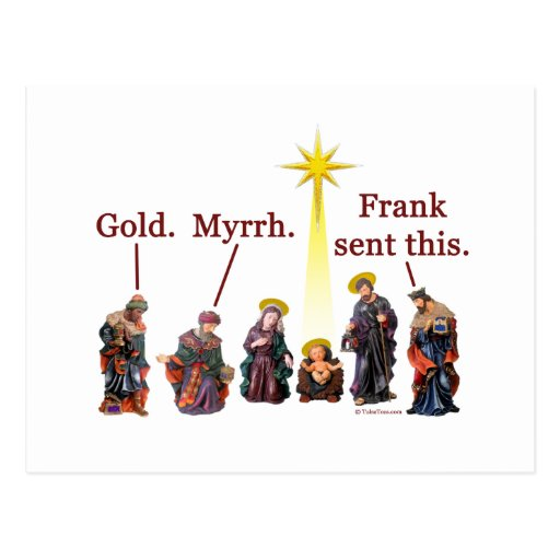 Frank envió esto tarjetas postales