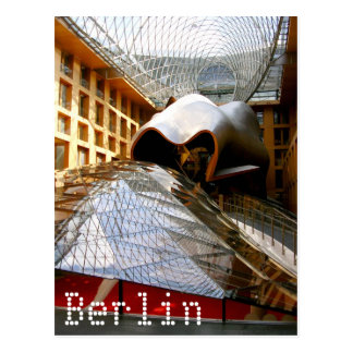 Frank Gehry in Berlin, Germany Post Card