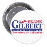 "Frank Gilbert 3"" Pin Redondo 7 Cm"