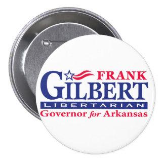 """Frank Gilbert 3"""" Pinback Button"""