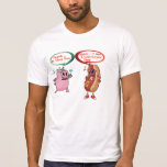 Frank .. is that you ? undercover dog BBQ Lovers Tee Shirt