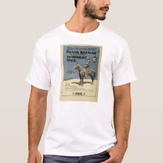 Frank Keenan 1919 silent movie exhibitor ad T-Shirt