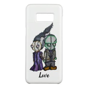 Halloween Themed Frank-n-Bride Case-Mate Samsung Galaxy S8 Case