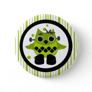 Frank Owl Monster Pin