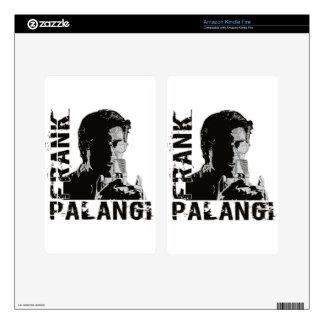 Frank Palangi enciende la piel del fuego Kindle Fire Pegatinas Skins