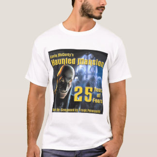 Frank Petrucell's 25 Years of Fears CD Shirt