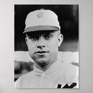 Frank Schaller, Kansas City, foto del béisbol Póster
