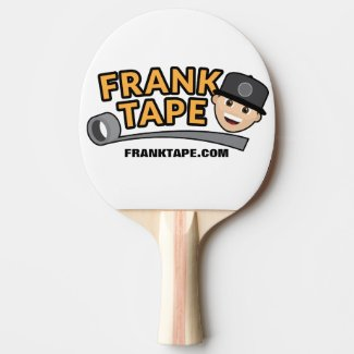 Frank Tape Ping Pong Paddle