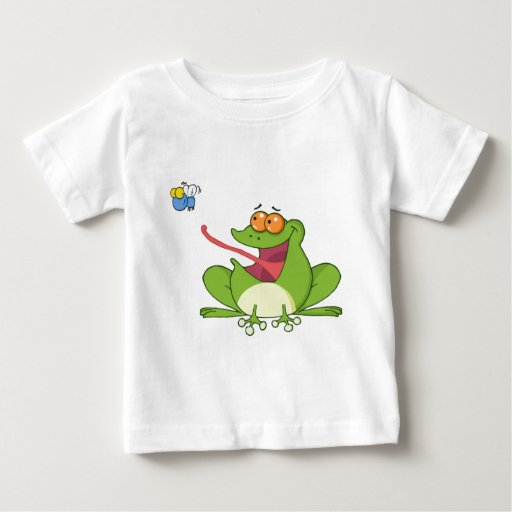 Frank the Frog with Buzzy the Fly Baby T-Shirt