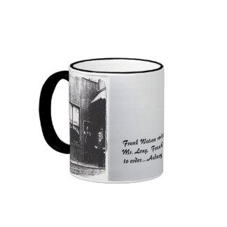 Frank Watson and Mr. Long. Ringer Coffee Mug