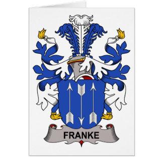 Franke Family Crest Card