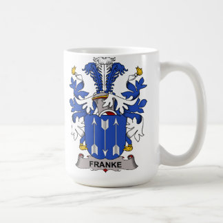 Franke Family Crest Coffee Mug