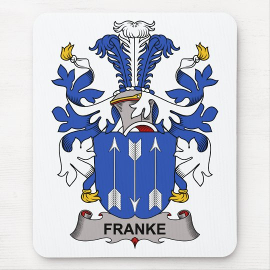 Franke Family Crest Mouse Pad