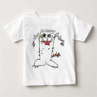 FrankEinstein Cartoon Monster Baby T-Shirt