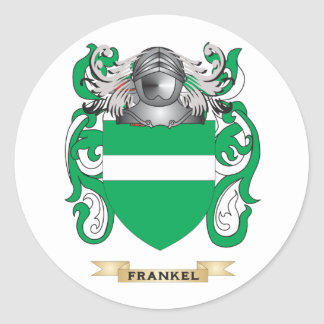 Frankel Coat of Arms Classic Round Sticker