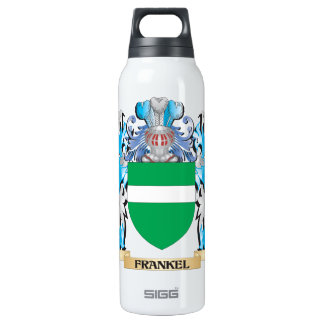 Frankel Coat of Arms - Family Crest 16 Oz Insulated SIGG Thermos Water Bottle